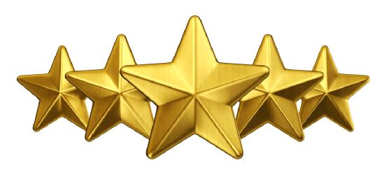 Senatoren werden mit fünf Sternen dargestellt.